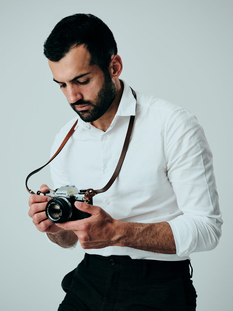 Ekin Auditore self-portrait with camera
